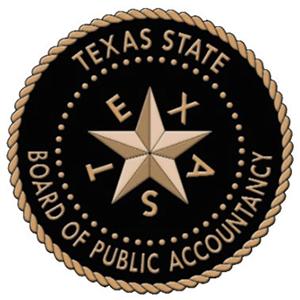 Texas State Board of Public Accountancy logo