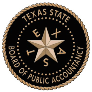 Texas State Board of Public Accountancy logo
